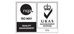 NQA ISO9001 UKAS logo